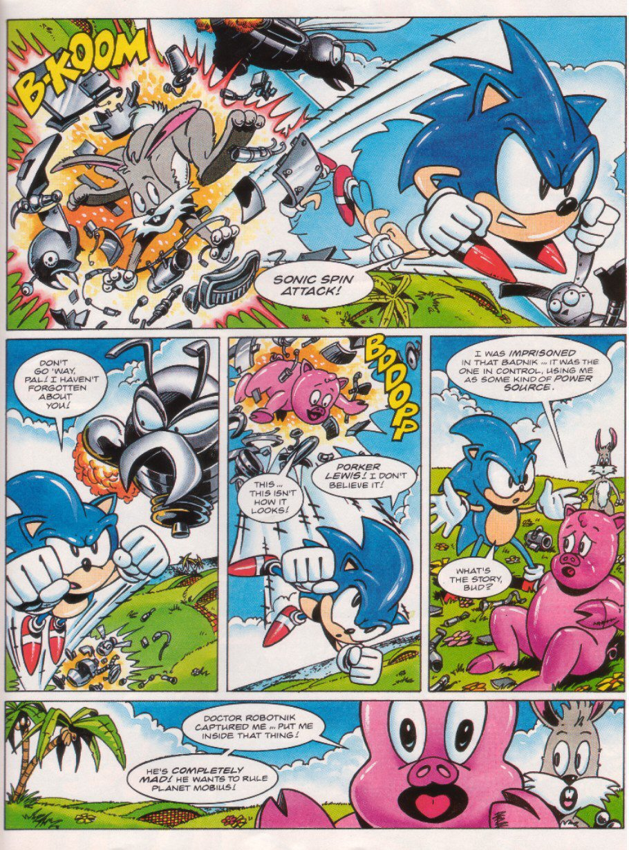 Read online Sonic the Comic comic -  Issue #26 - 22