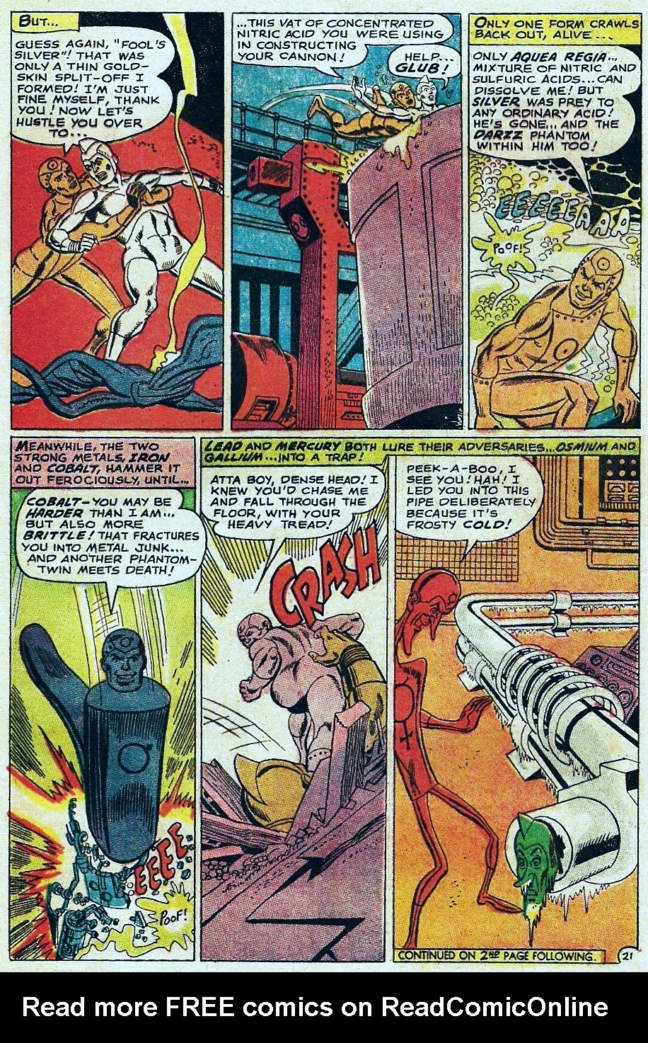 Metal Men (1963) issue 31 - Page 29