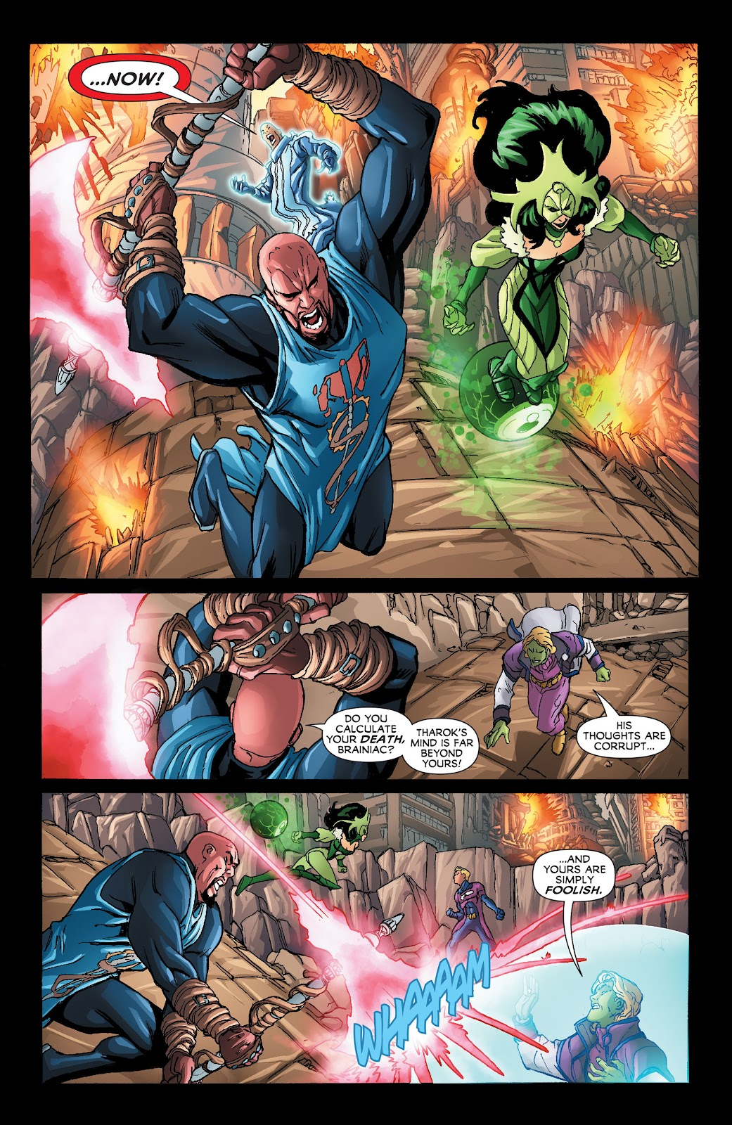 Legion of Super-Heroes (2011) Issue #21 #22 - English 17