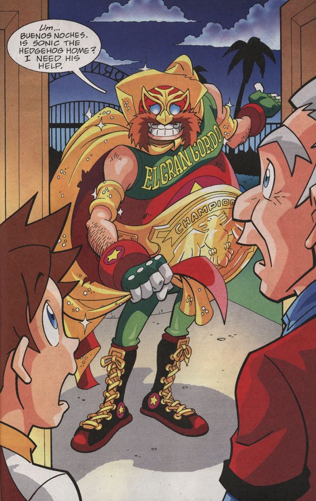 Read online Sonic X comic -  Issue #31 - 33