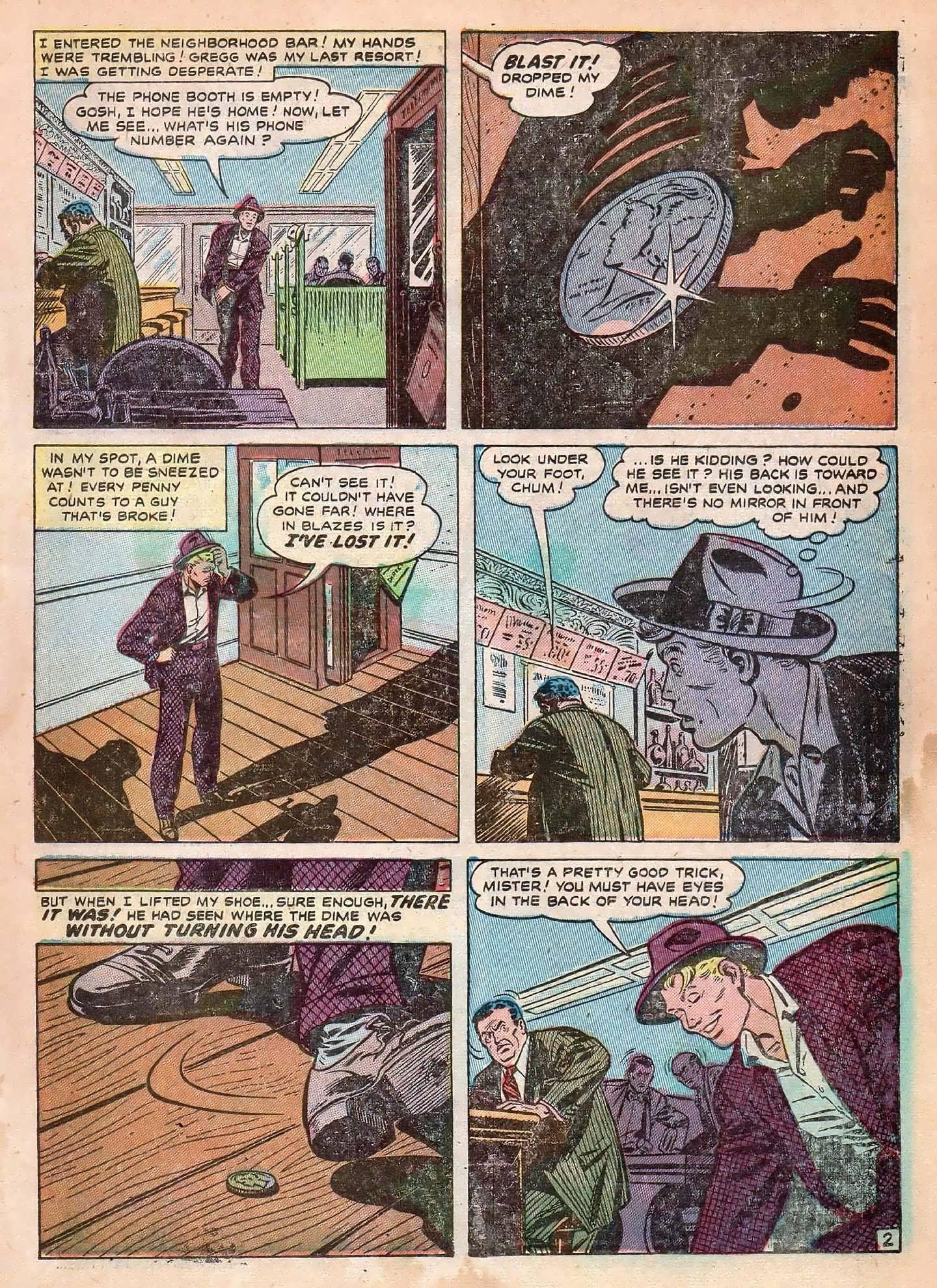 Read online Adventures into Weird Worlds comic -  Issue #2 - 11