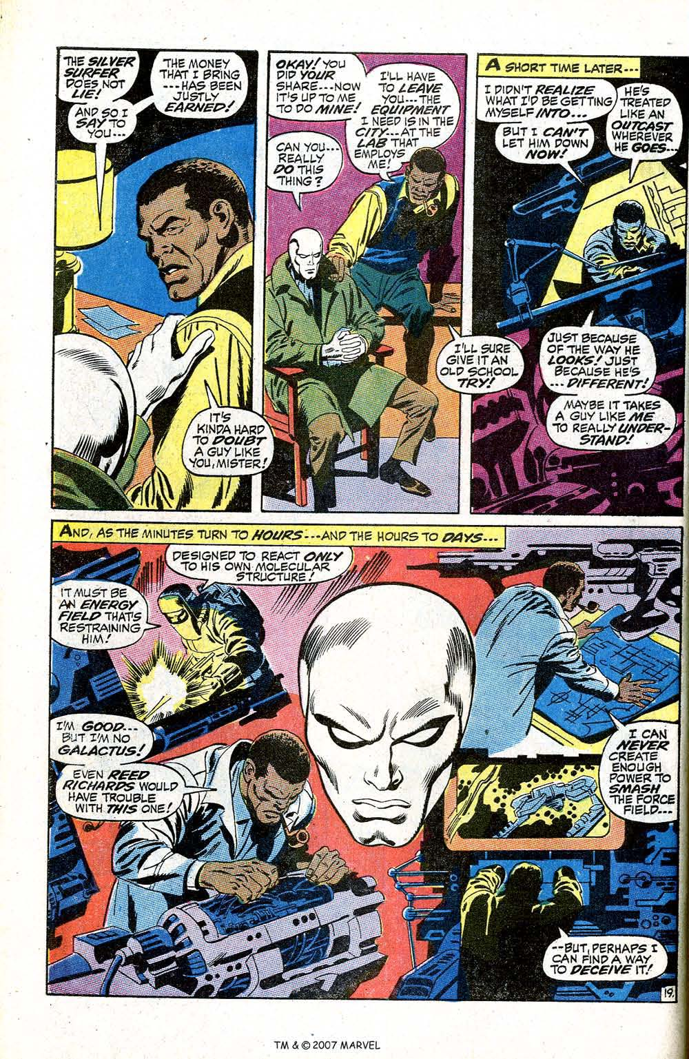 Read online Silver Surfer (1968) comic -  Issue #5 - 24
