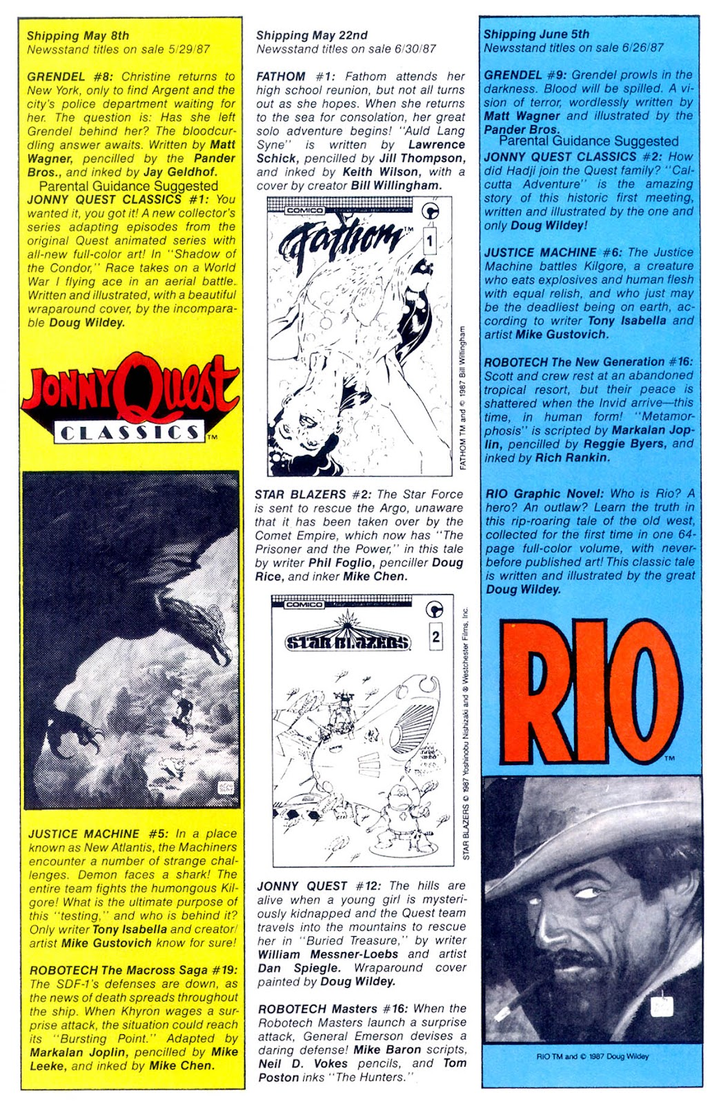 Jonny Quest (1986) issue 11 - Page 32