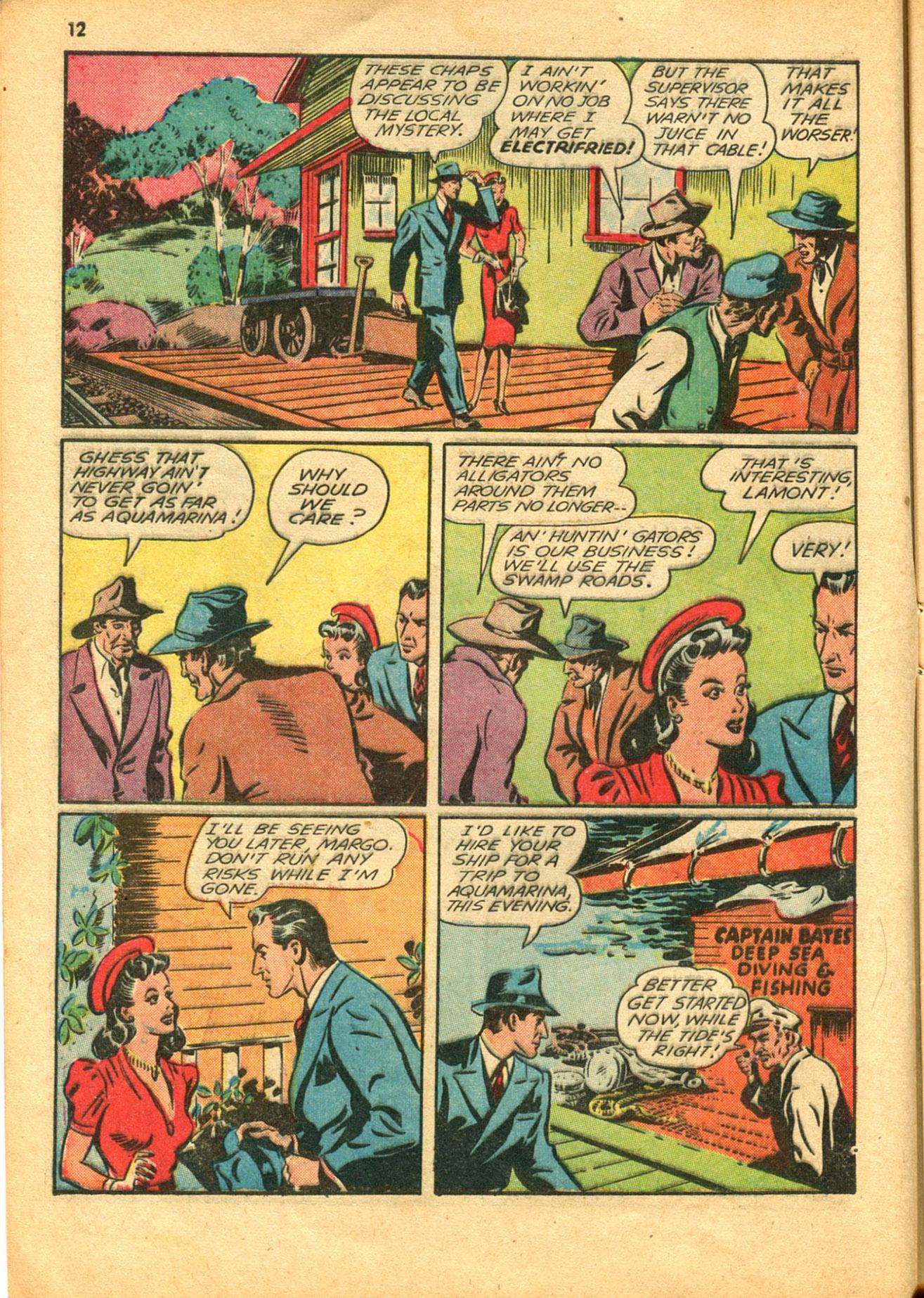 Read online Shadow Comics comic -  Issue #30 - 12