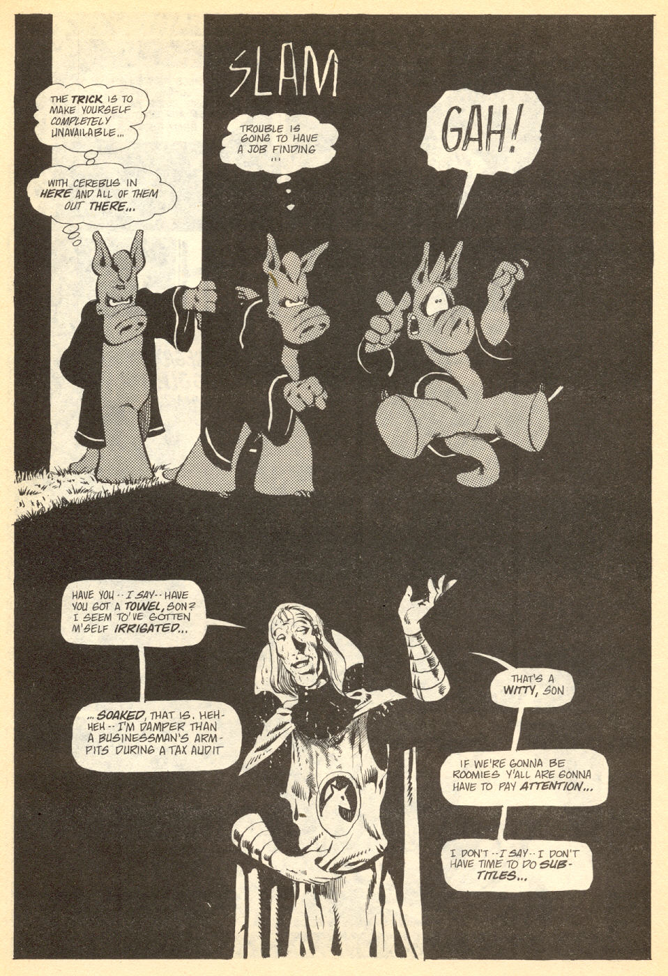 Cerebus Issue #34 #34 - English 8