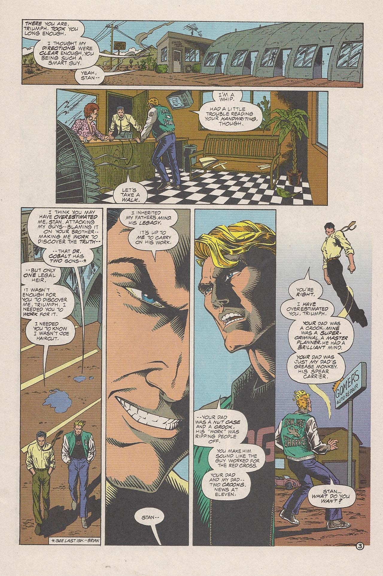 Read online Triumph comic -  Issue #4 - 5