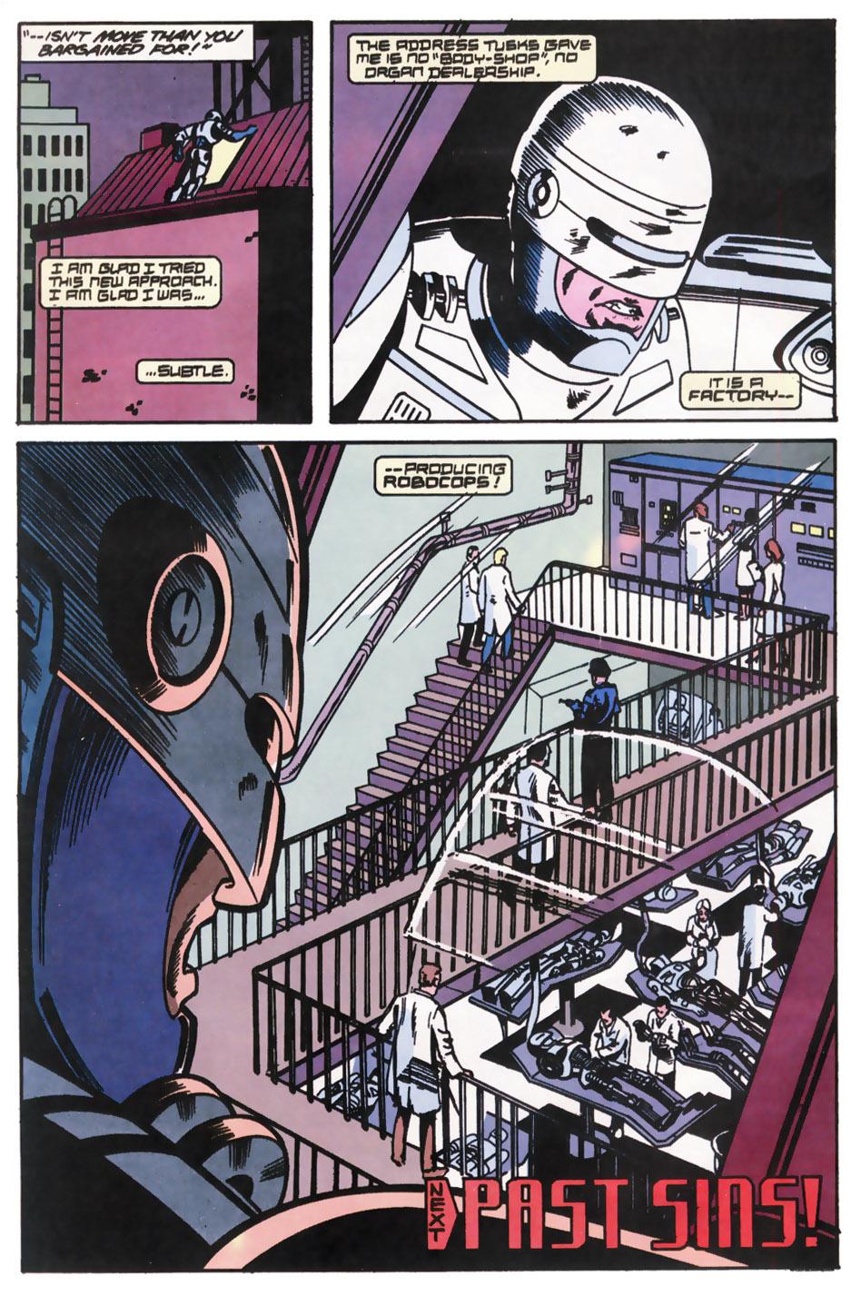 Read online Robocop (1990) comic -  Issue #12 - 23