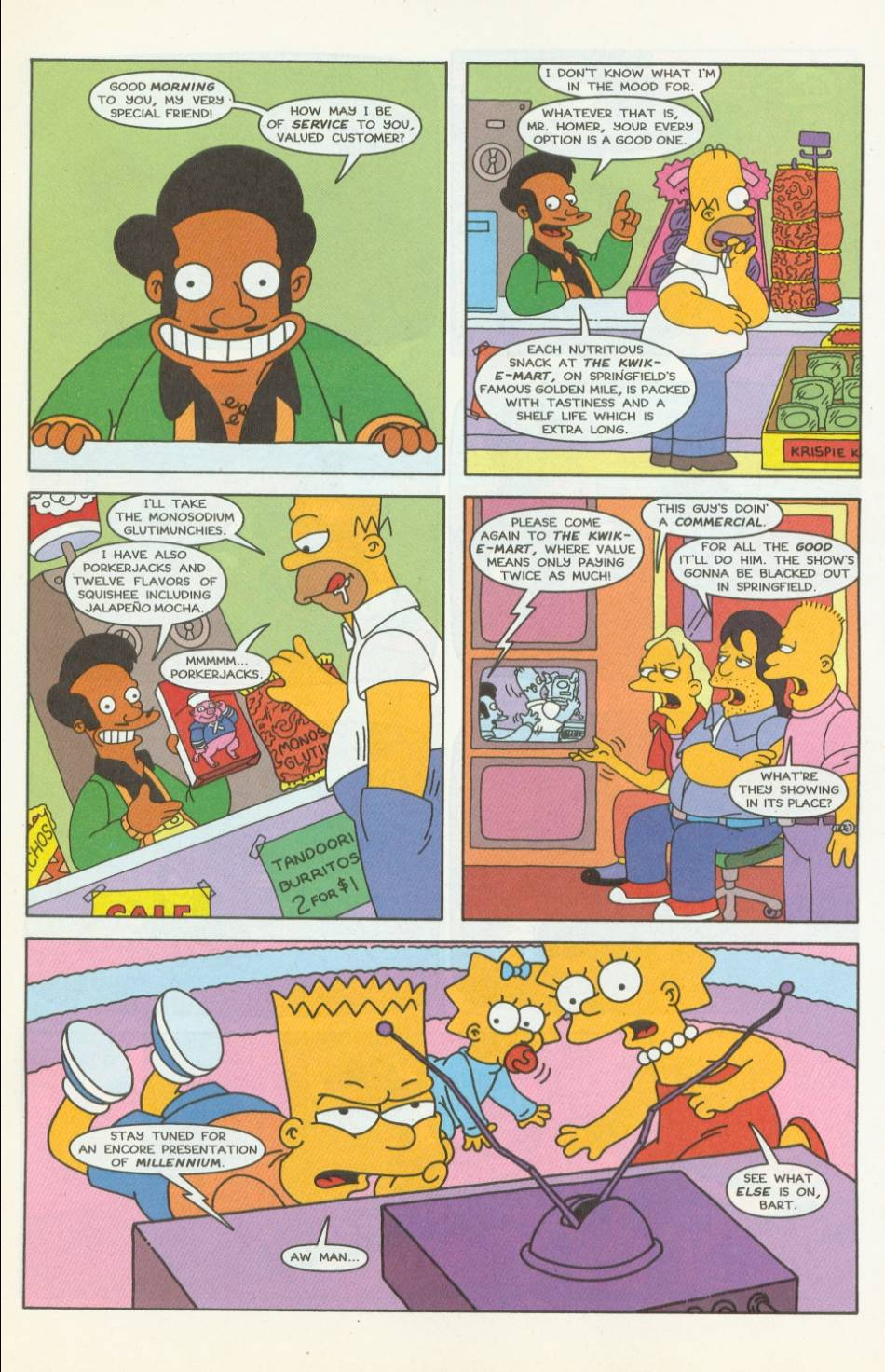 Read online Simpsons Comics comic -  Issue #42 - 12