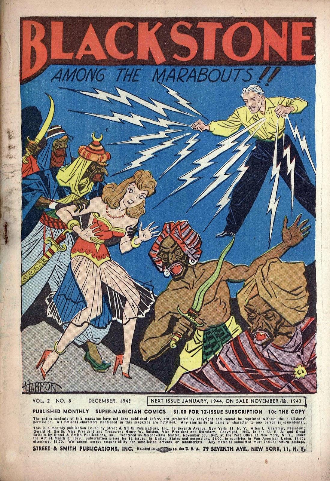 Read online Super-Magician Comics comic -  Issue #20 - 3