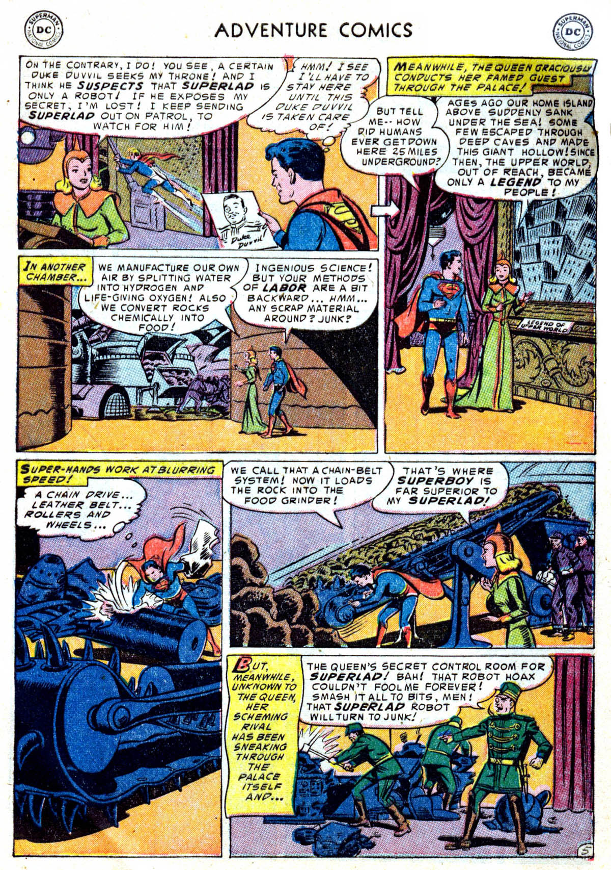 Read online Adventure Comics (1938) comic -  Issue #199 - 6