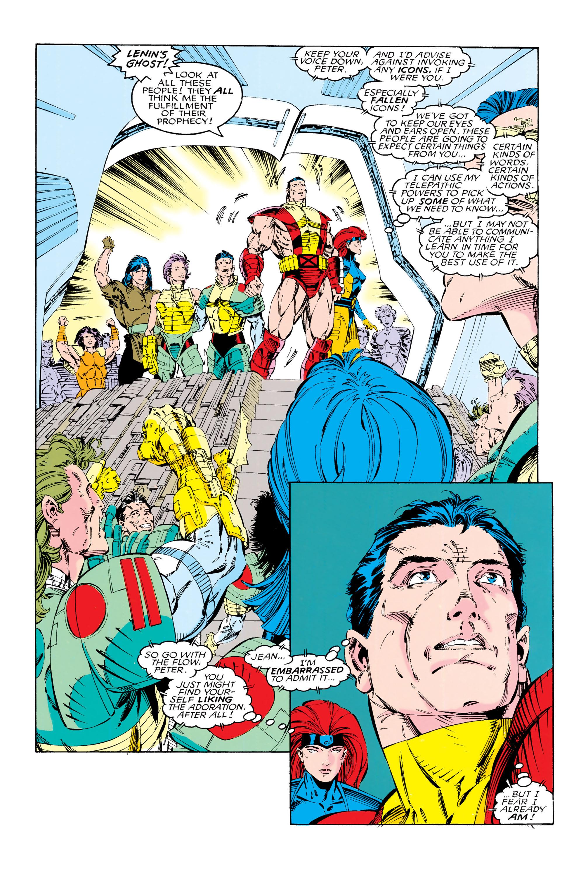 Read online Uncanny X-Men (1963) comic -  Issue #285 - 15