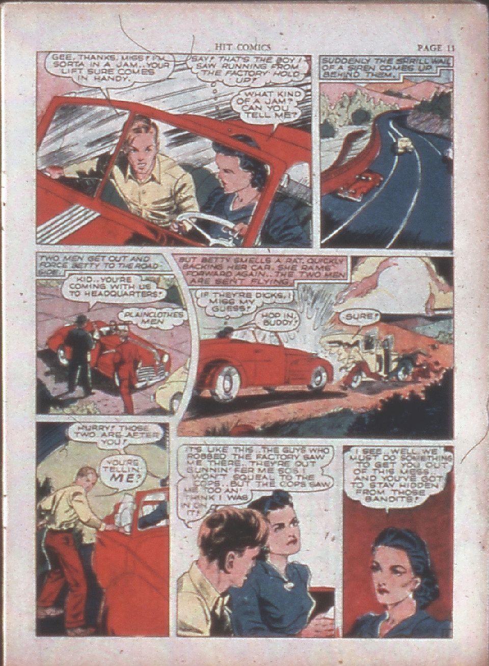 Read online Hit Comics comic -  Issue #15 - 13