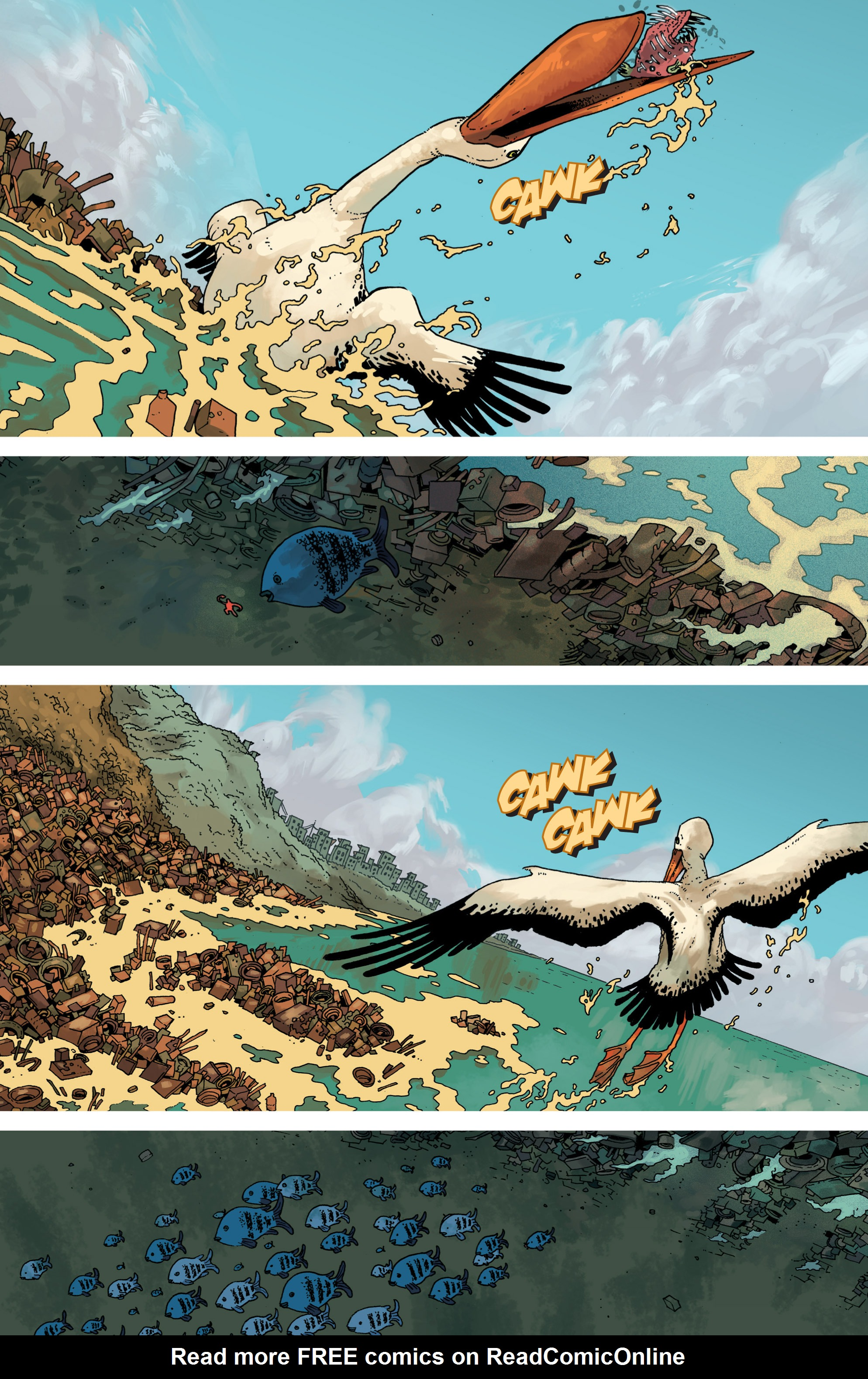 Read online Great Pacific comic -  Issue #8 - 5