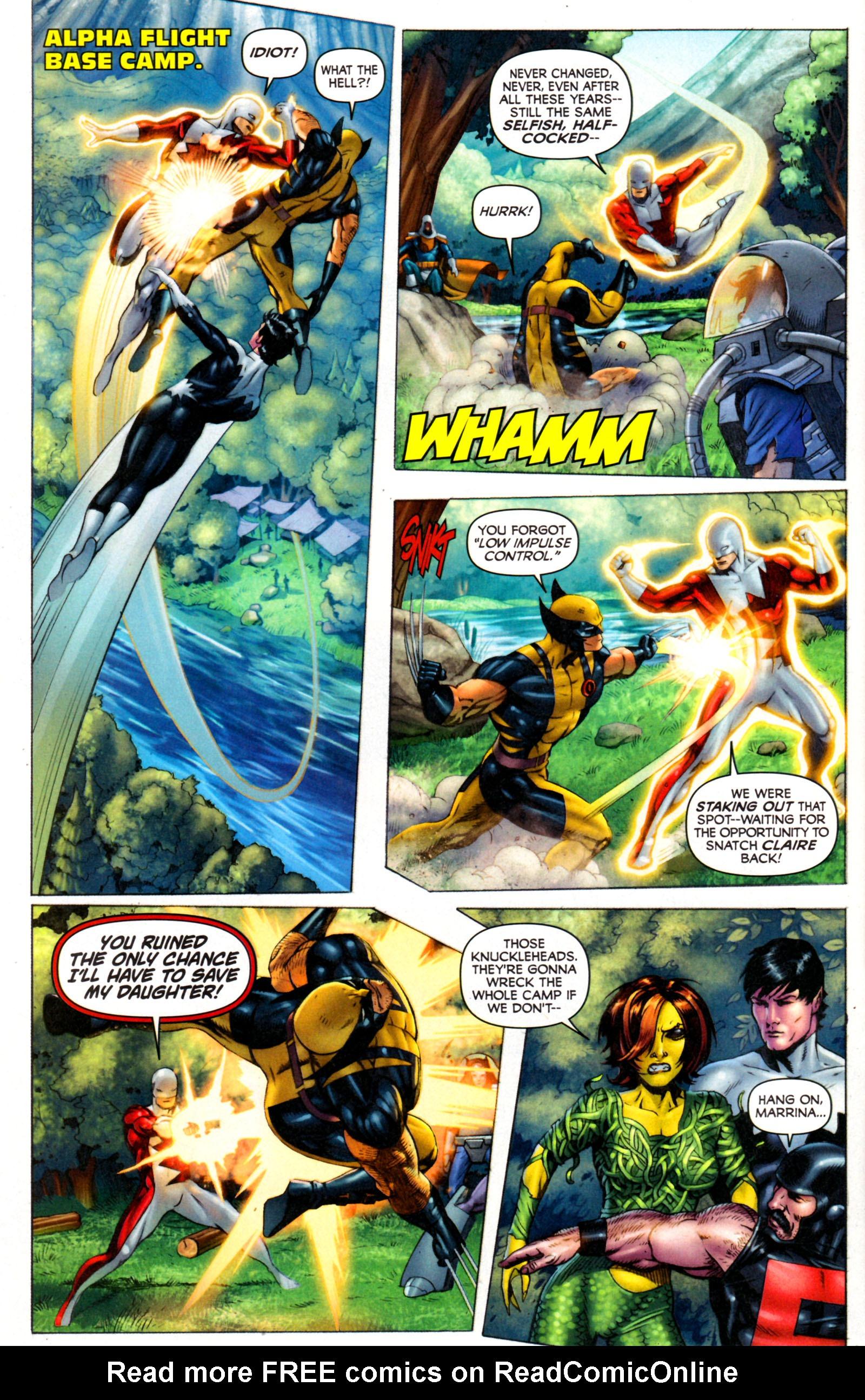 Read online Alpha Flight (2011) comic -  Issue #7 - 8