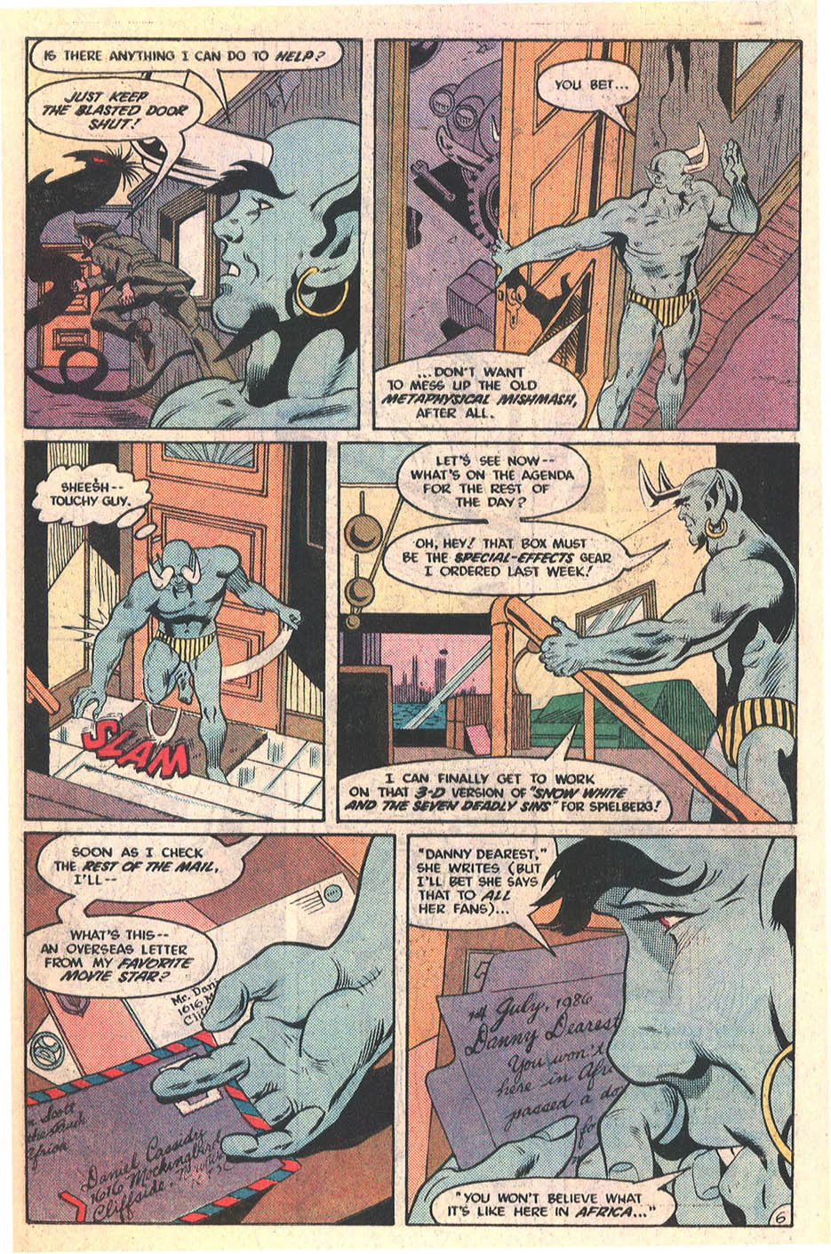 Blue Devil Issue 30 | Viewcomic reading comics online for