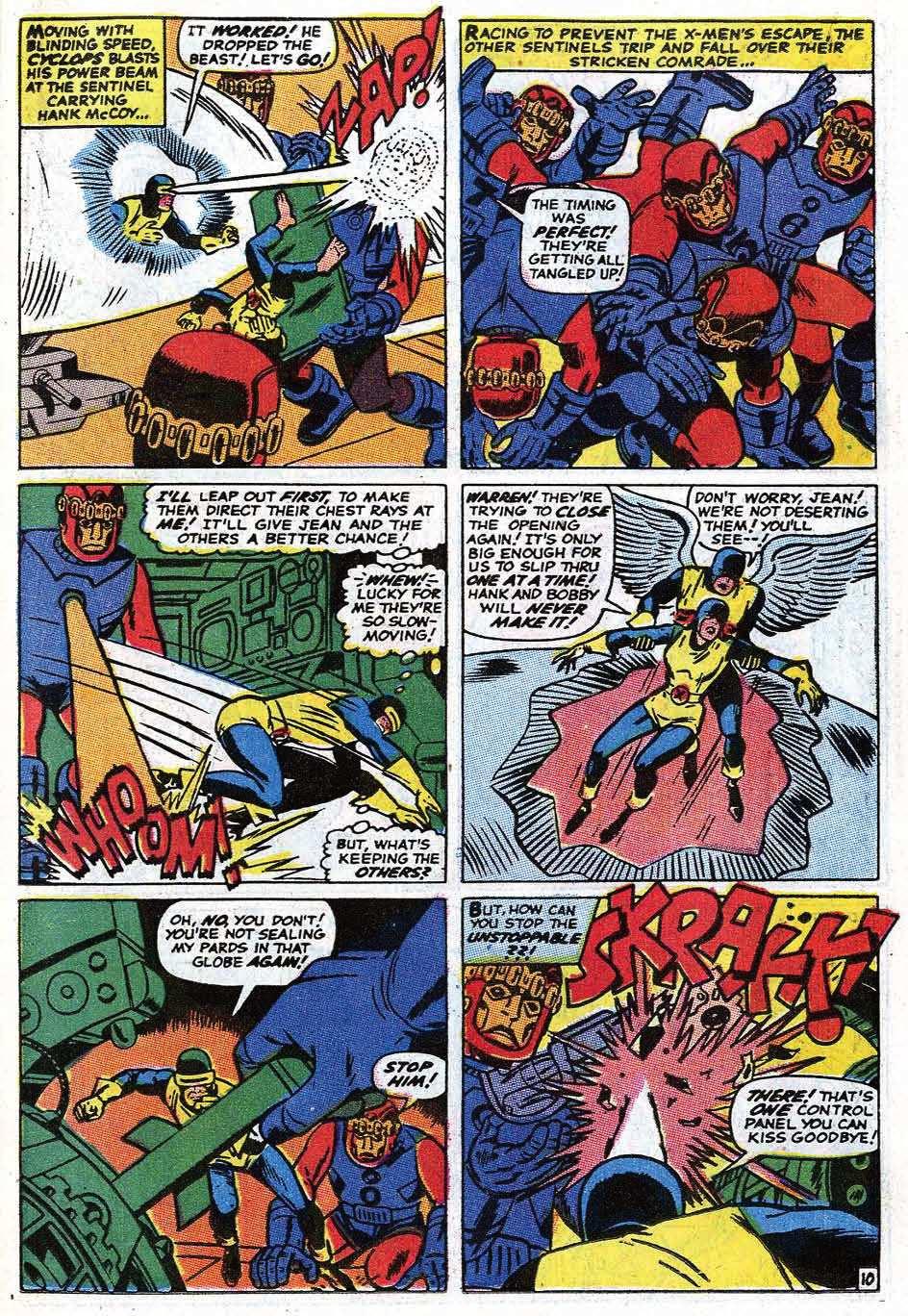 Read online Uncanny X-Men (1963) comic -  Issue #69 - 13