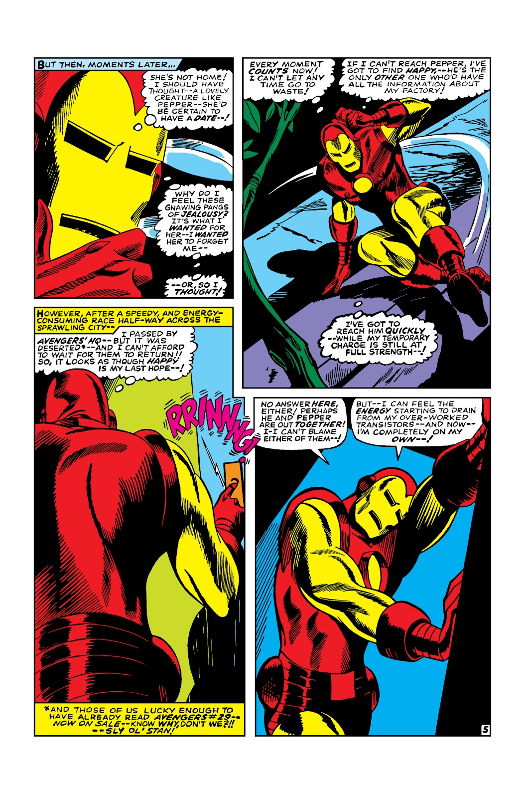 Read online Marvel Masterworks: The Invincible Iron Man comic -  Issue # TPB 3 (Part 4) - 7