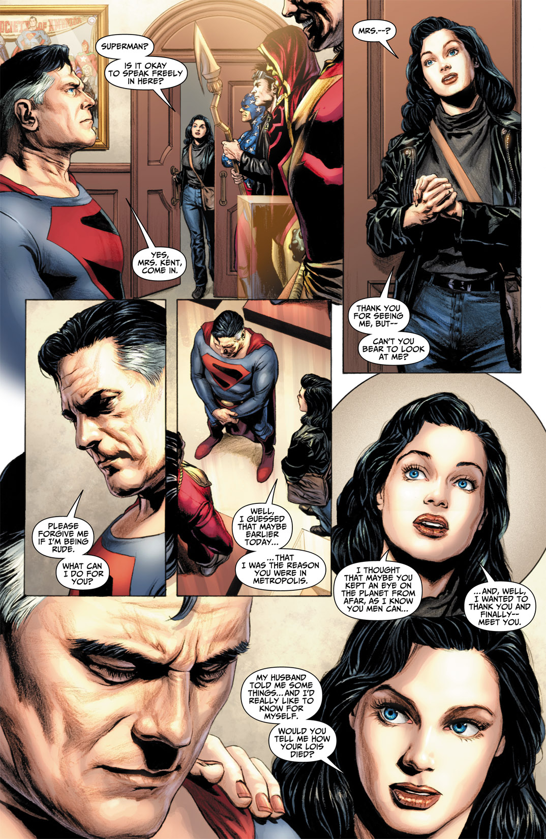 Read online JSA Kingdom Come Special: Superman comic -  Issue # Full - 19