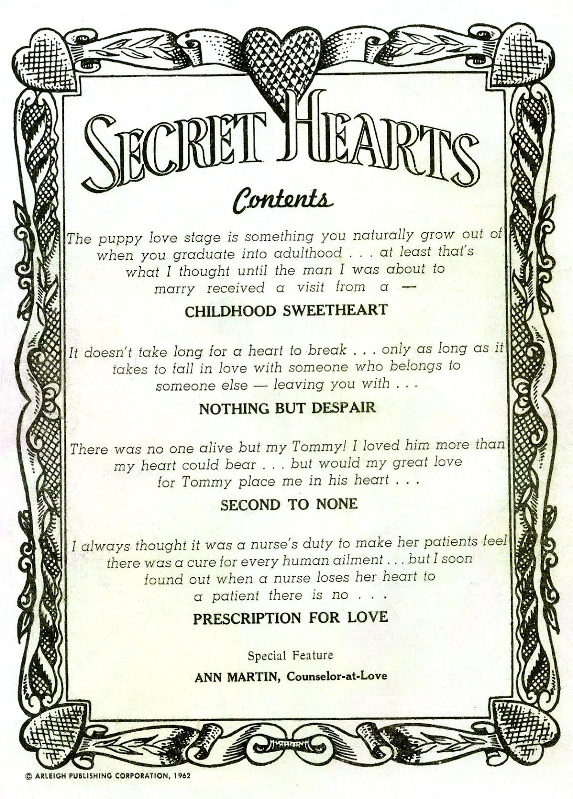 Secret Hearts 81 Page 2