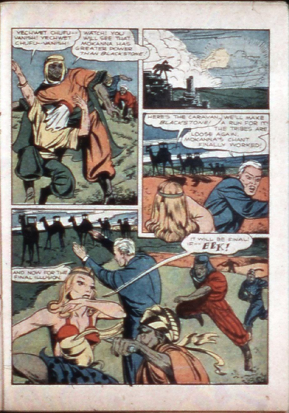 Read online Super-Magician Comics comic -  Issue #3 - 36