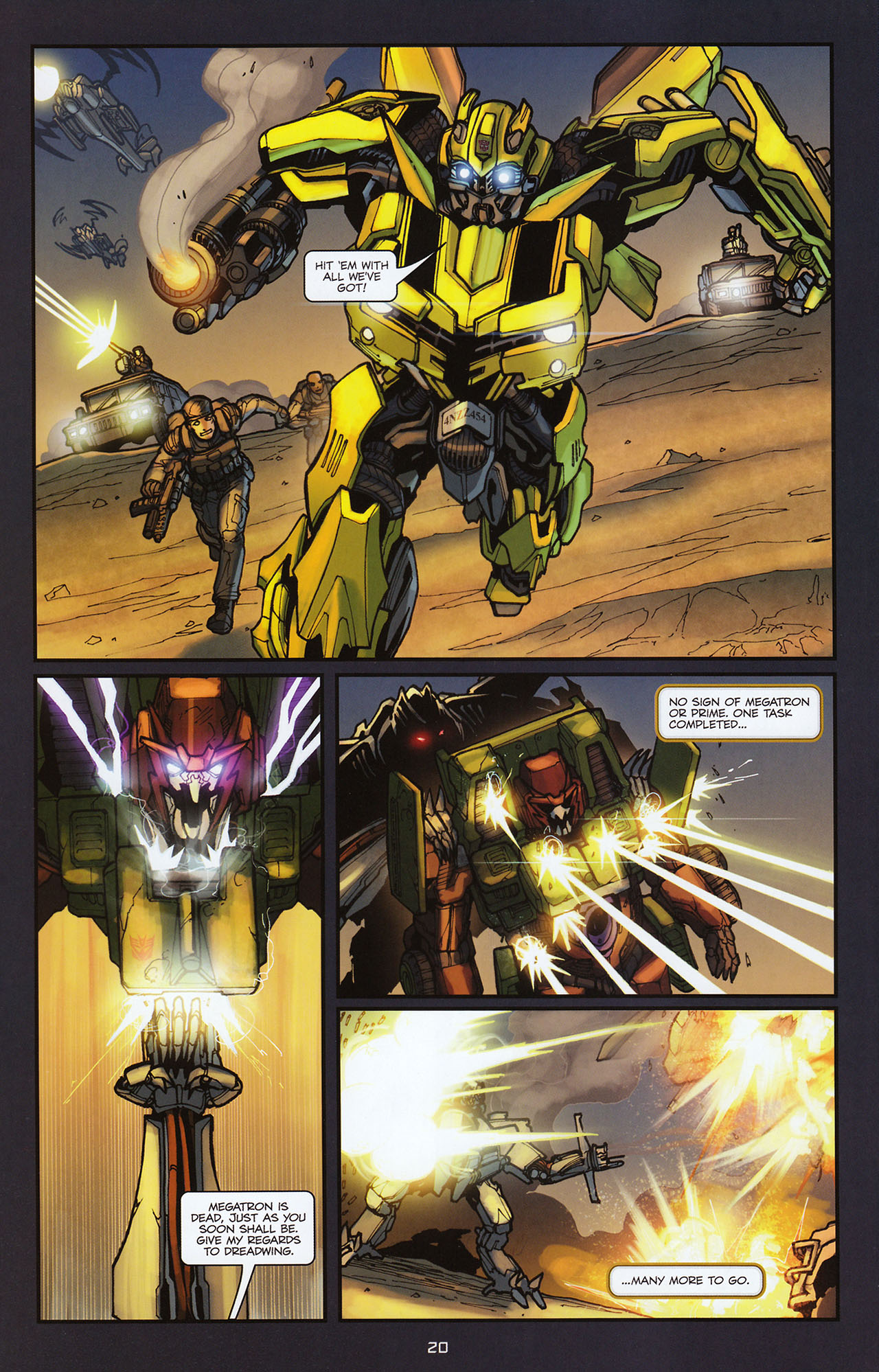 Read online Transformers: Alliance comic -  Issue #2 - 23