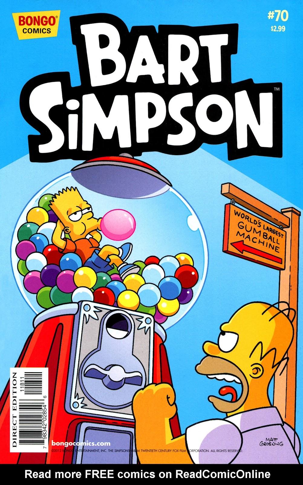 Simpsons Comics Presents Bart Simpson 70 Page 1