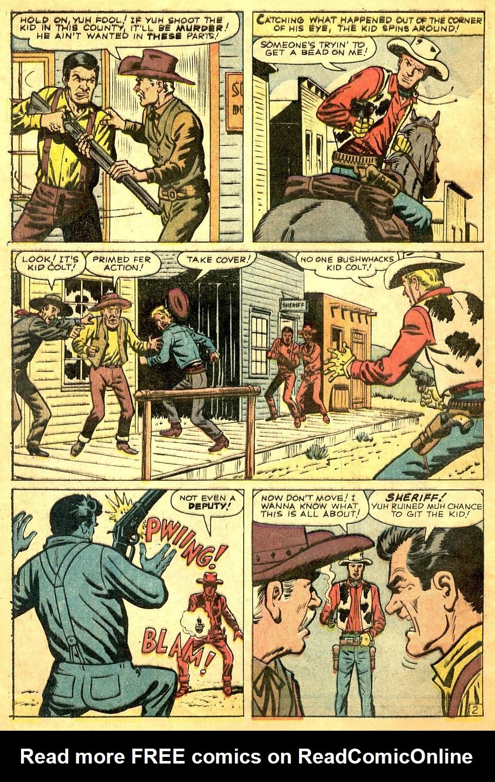 Gunsmoke Western issue 63 - Page 4