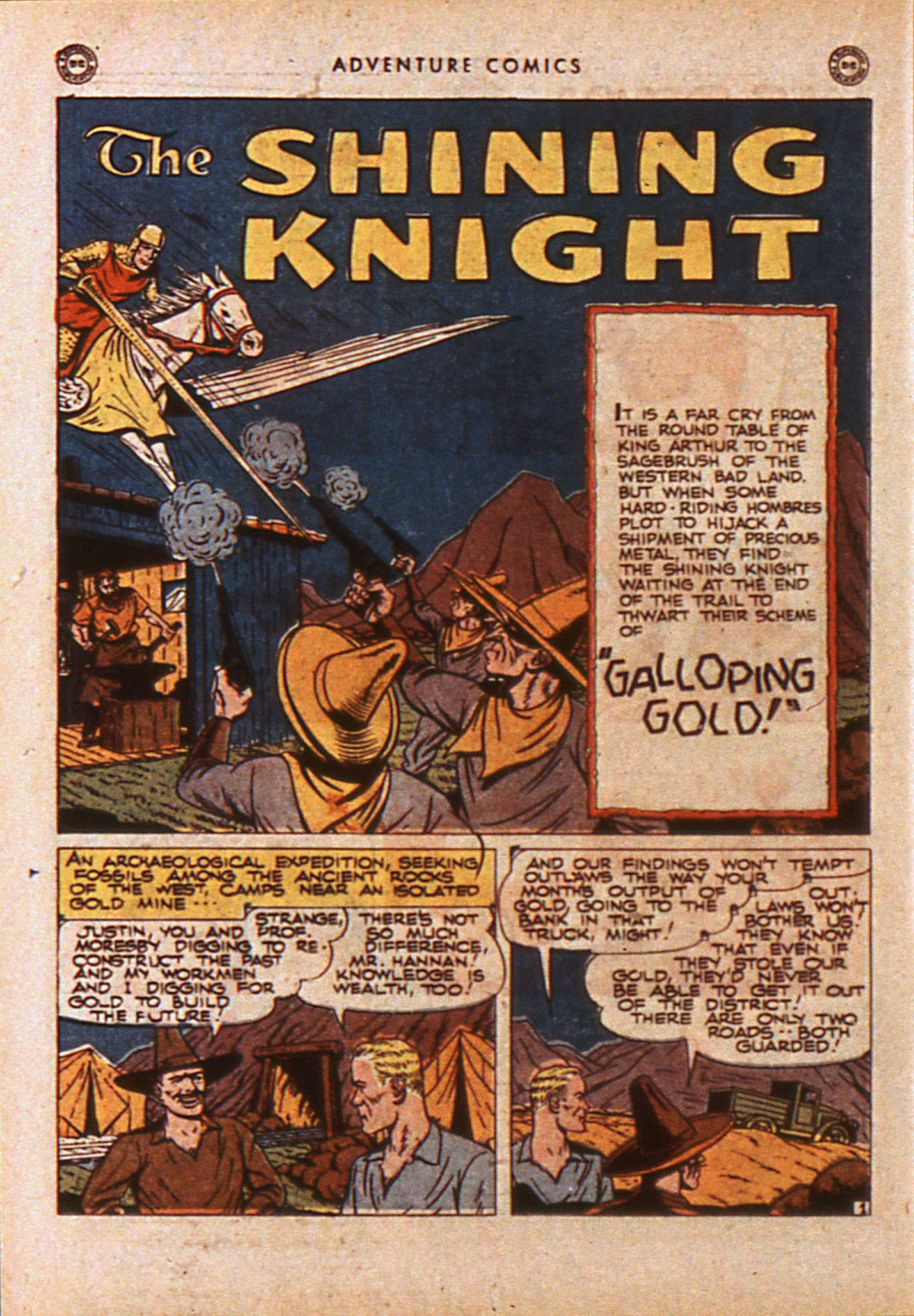 Read online Adventure Comics (1938) comic -  Issue #110 - 21