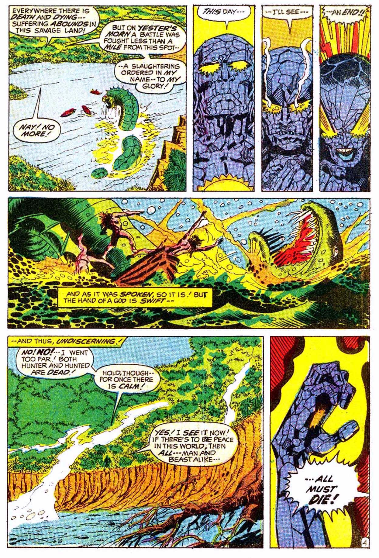 Read online Astonishing Tales (1970) comic -  Issue #5 - 15