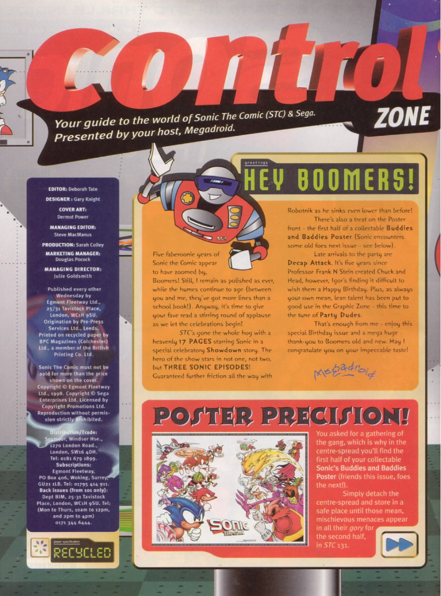 Read online Sonic the Comic comic -  Issue #130 - 2