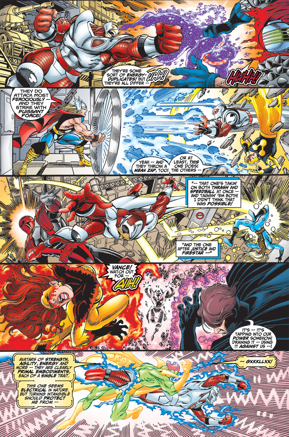 Read online Avengers (1998) comic -  Issue #13 - 18