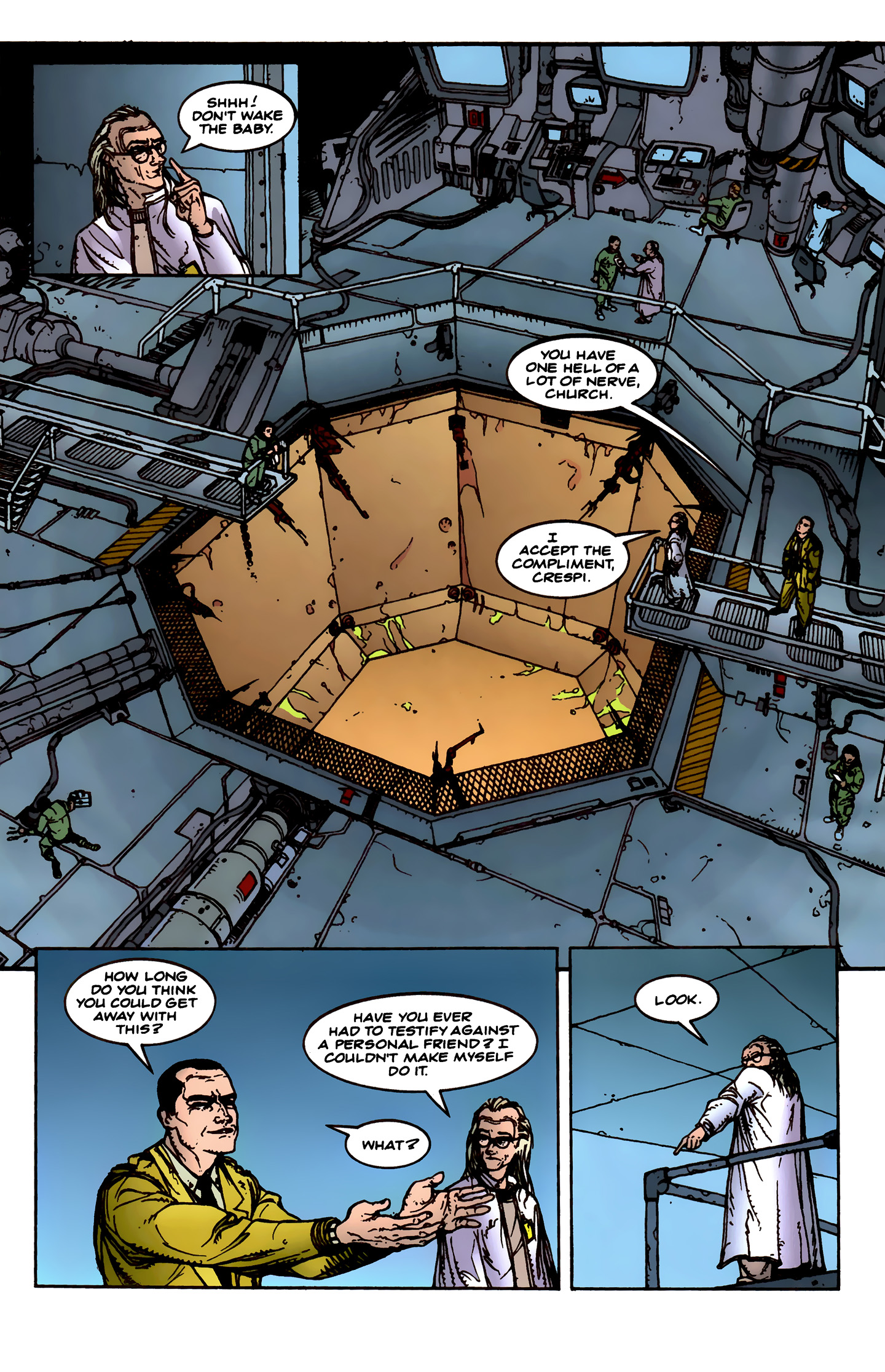 Read online Aliens: Labyrinth comic -  Issue #1 - 12