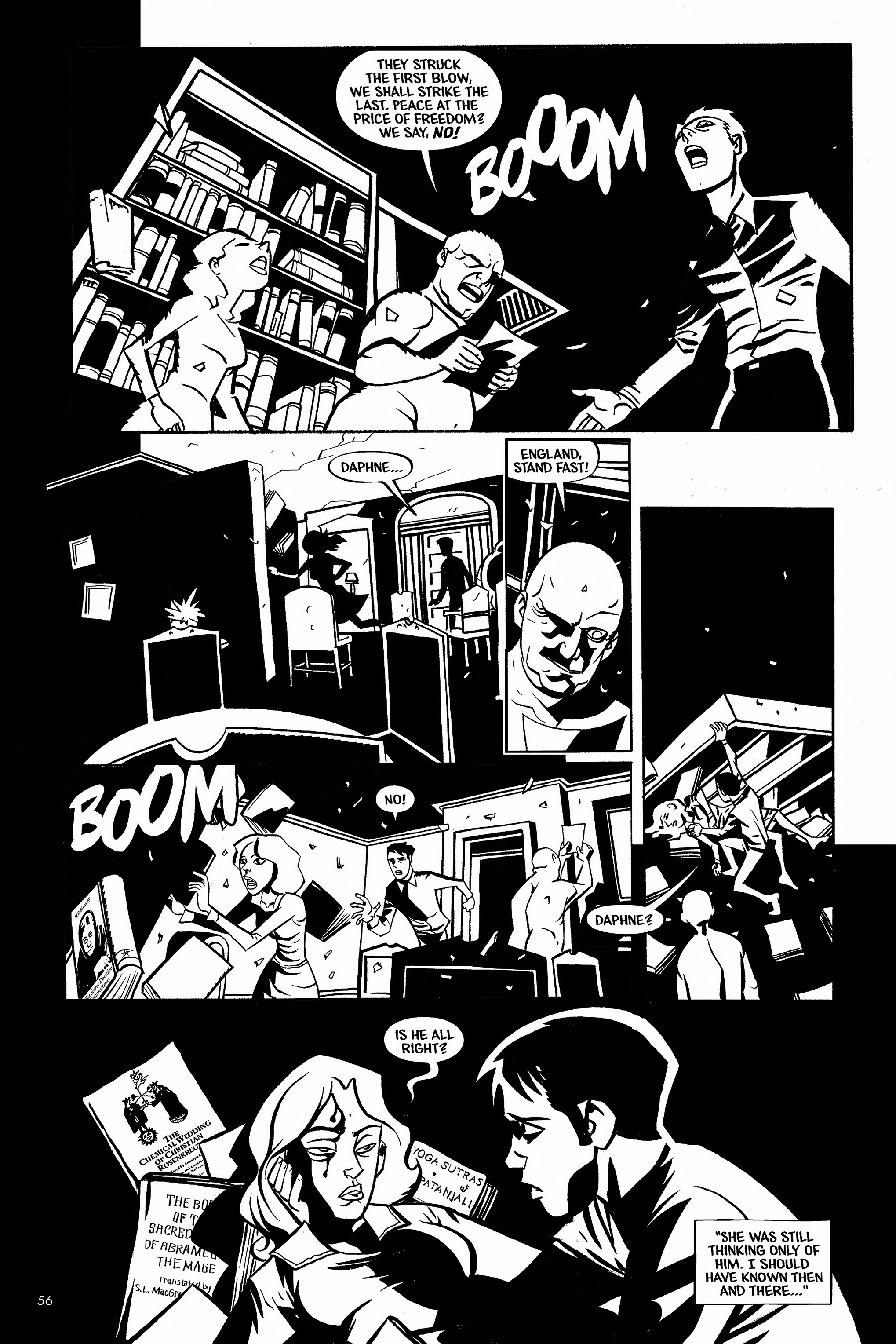 Read online Aleister & Adolf comic -  Issue # TPB - 55