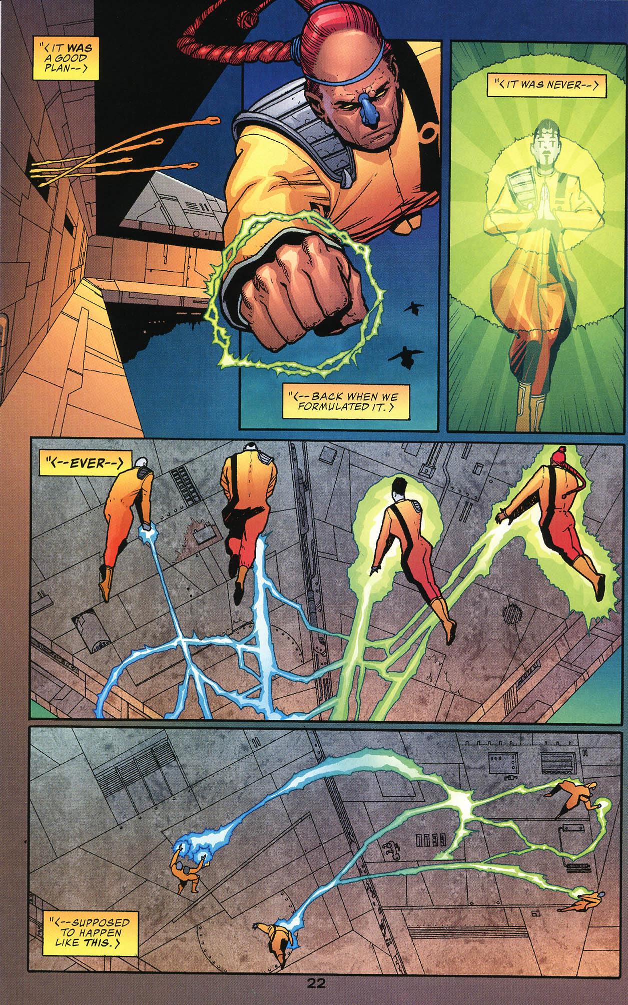 Read online JLA/Haven: Arrival comic -  Issue # Full - 22
