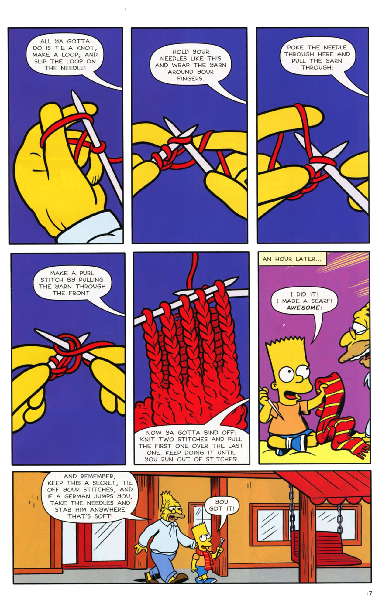 Read online Bongo Comics presents Comic Book Guy: The Comic Book comic -  Issue #3 - 13
