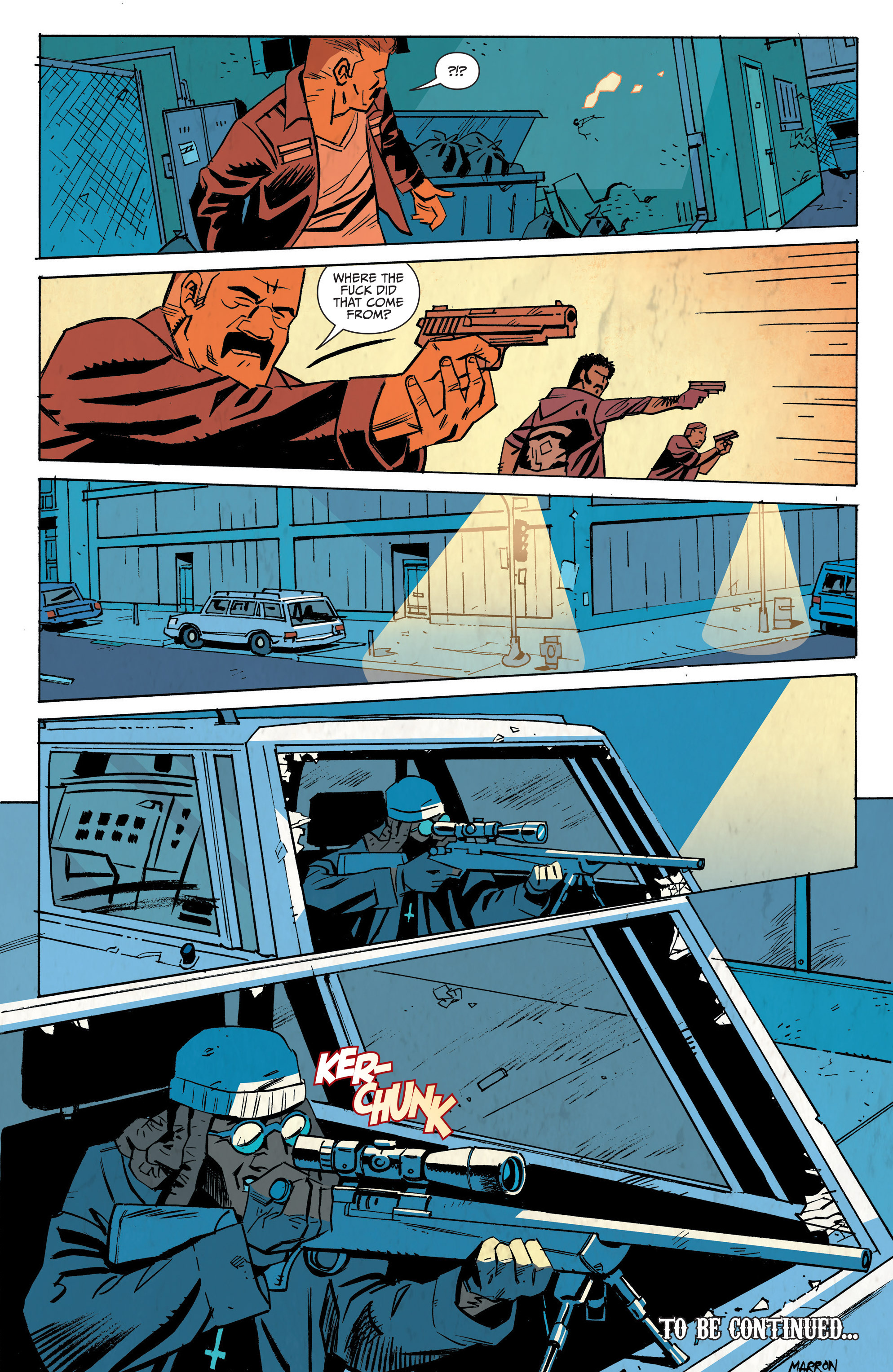 Read online Sons of Anarchy: Redwood Original comic -  Issue #7 - 24