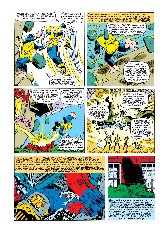 Read online Uncanny X-Men (1963) comic -  Issue #16 - 21