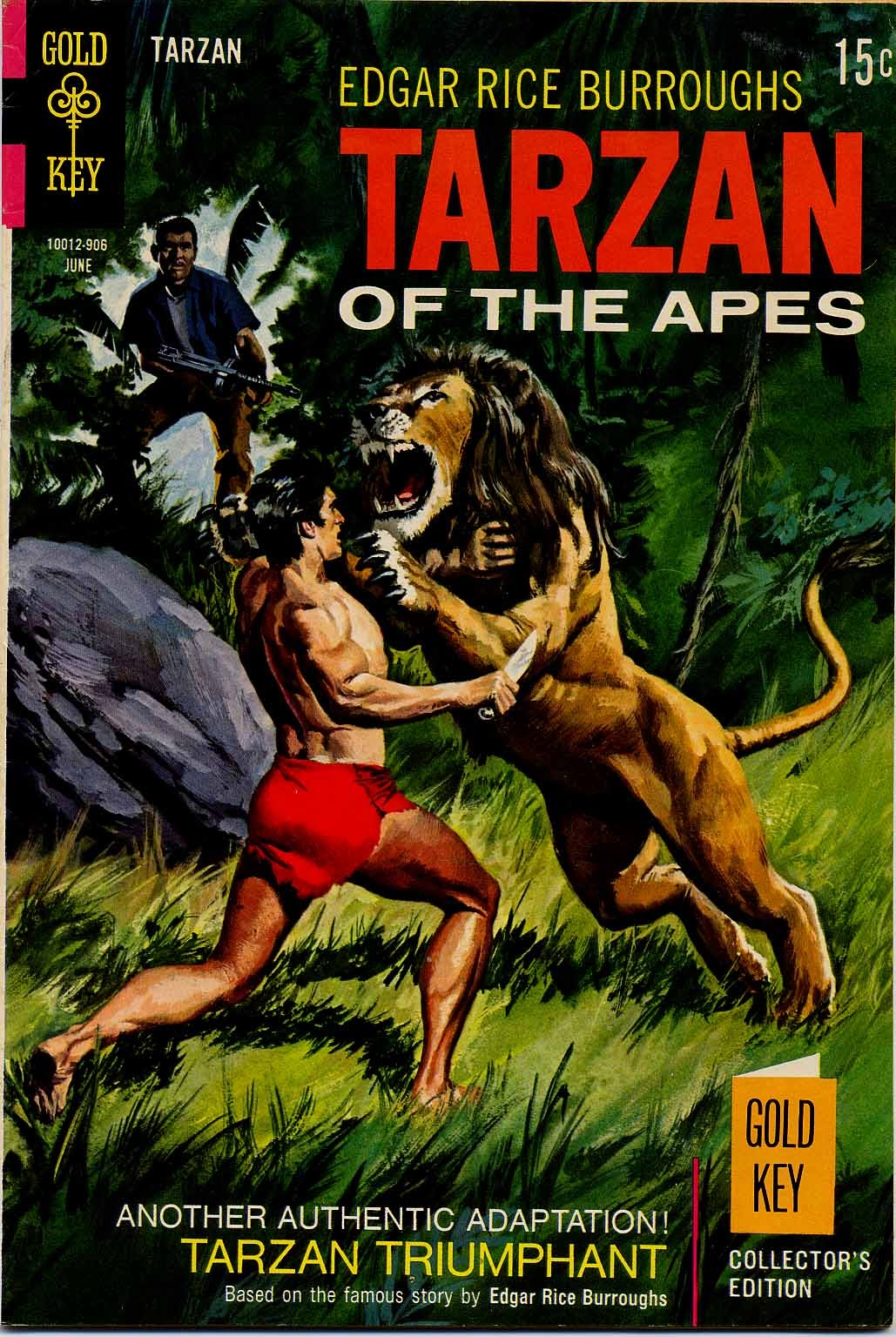 Tarzan (1962) issue 184 - Page 1