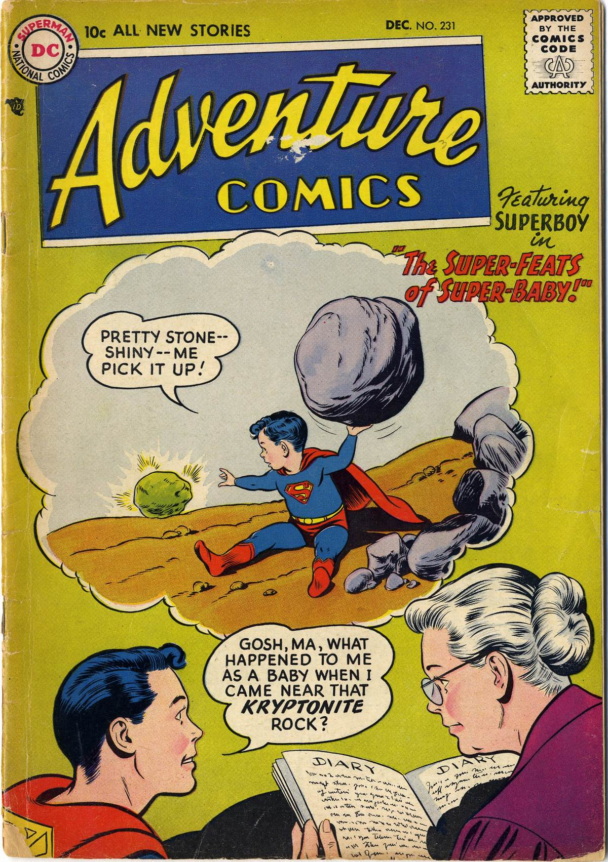 Read online Adventure Comics (1938) comic -  Issue #231 - 1
