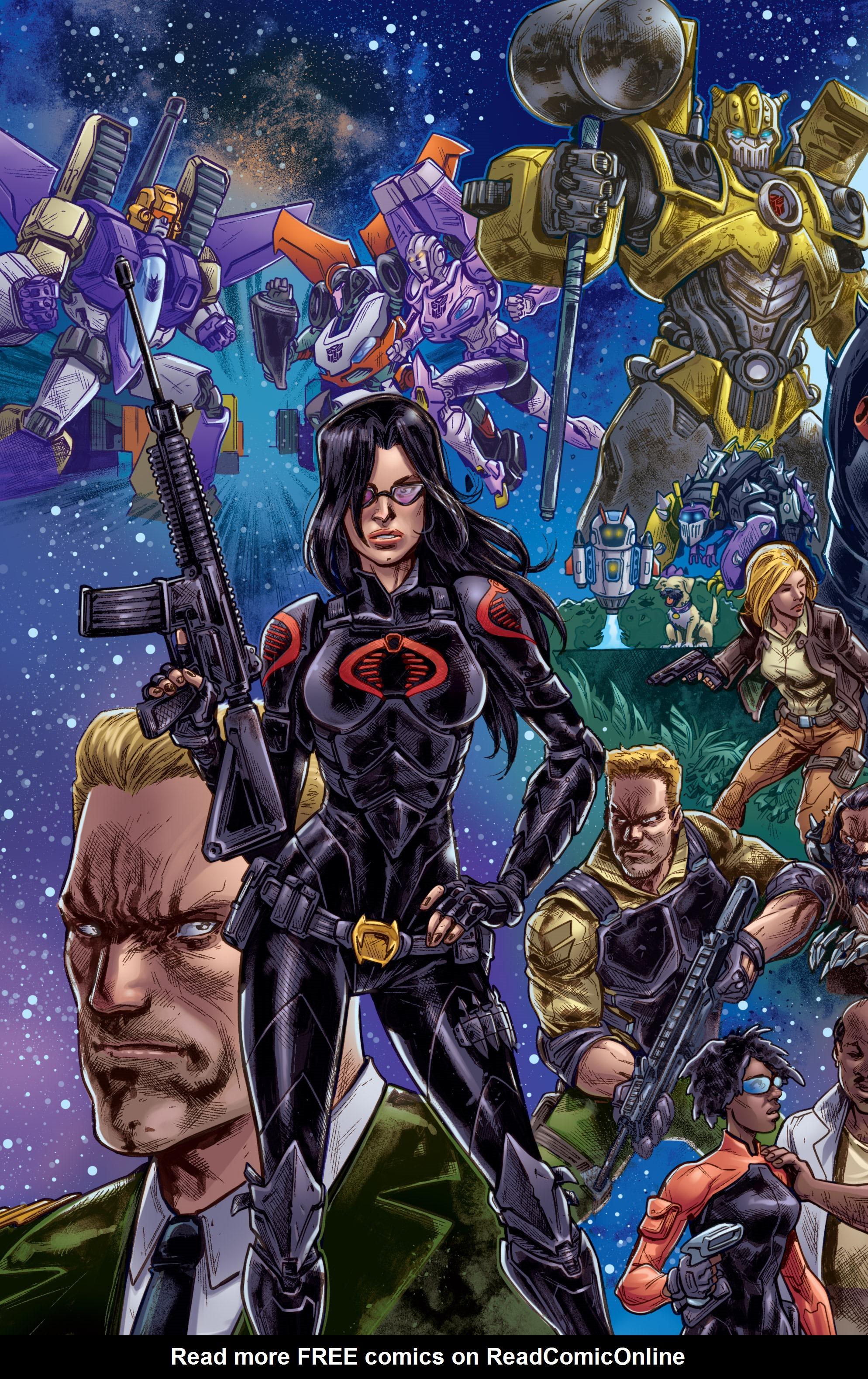 Read online Hasbro Heroes Sourcebook comic -  Issue #1 - 23