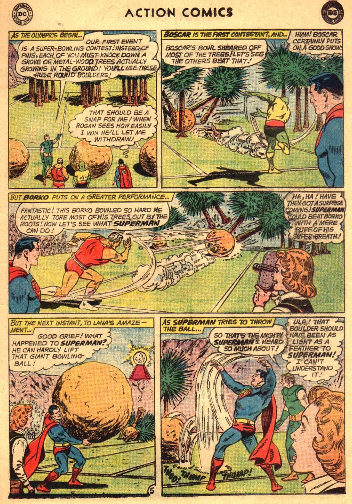 Read online Action Comics (1938) comic -  Issue #304 - 7