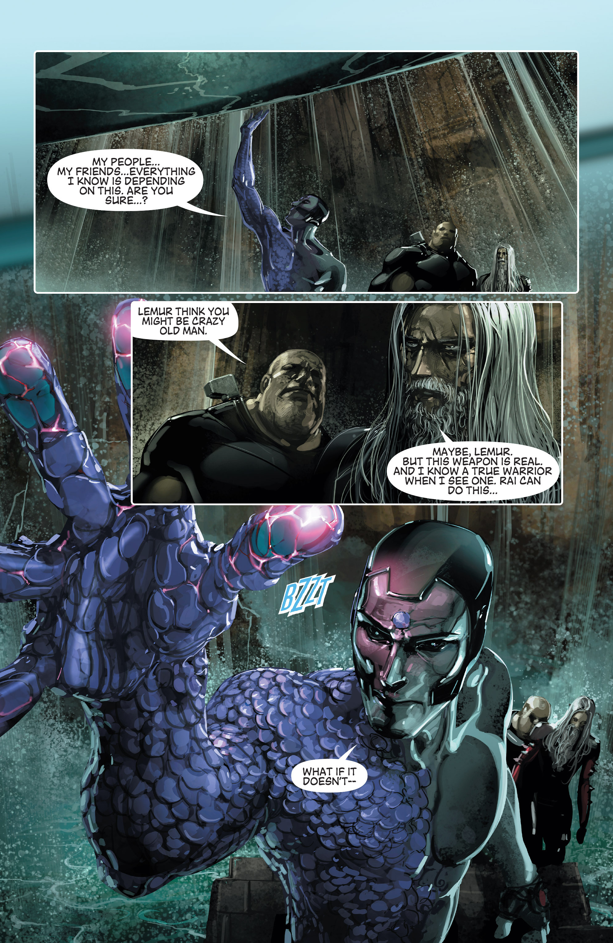 Read online 4001 A.D. comic -  Issue #1 - 22