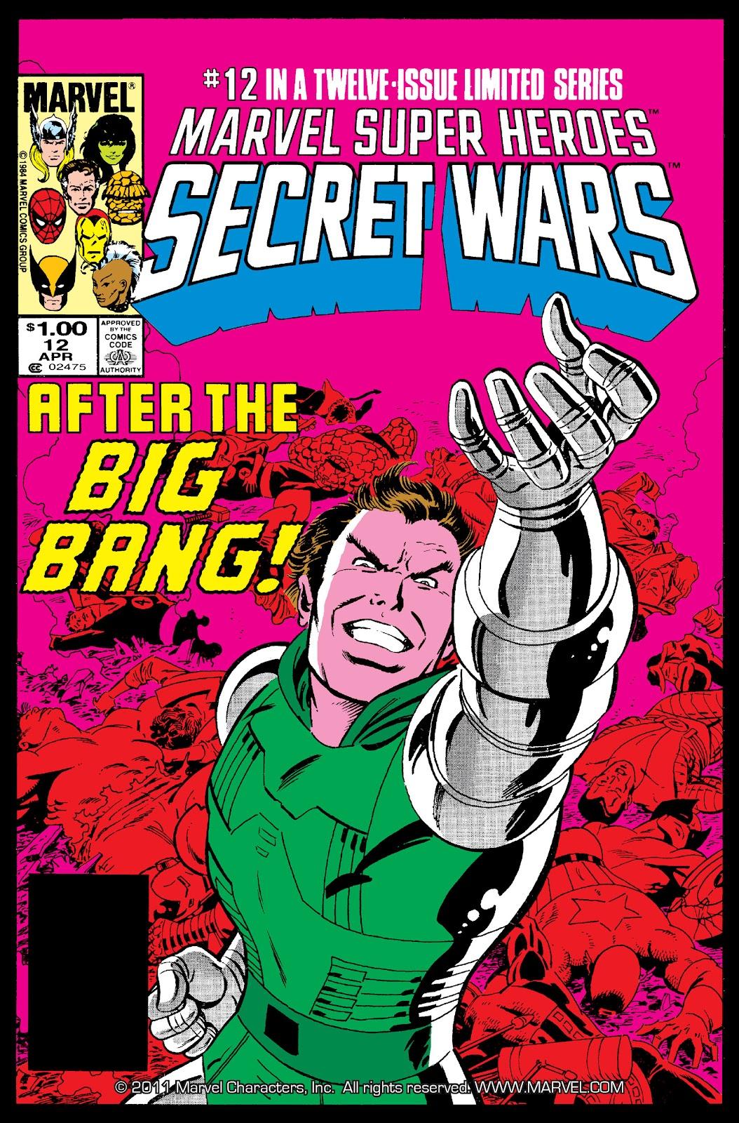 Marvel Super Heroes Secret Wars (1984) issue 12 - Page 1