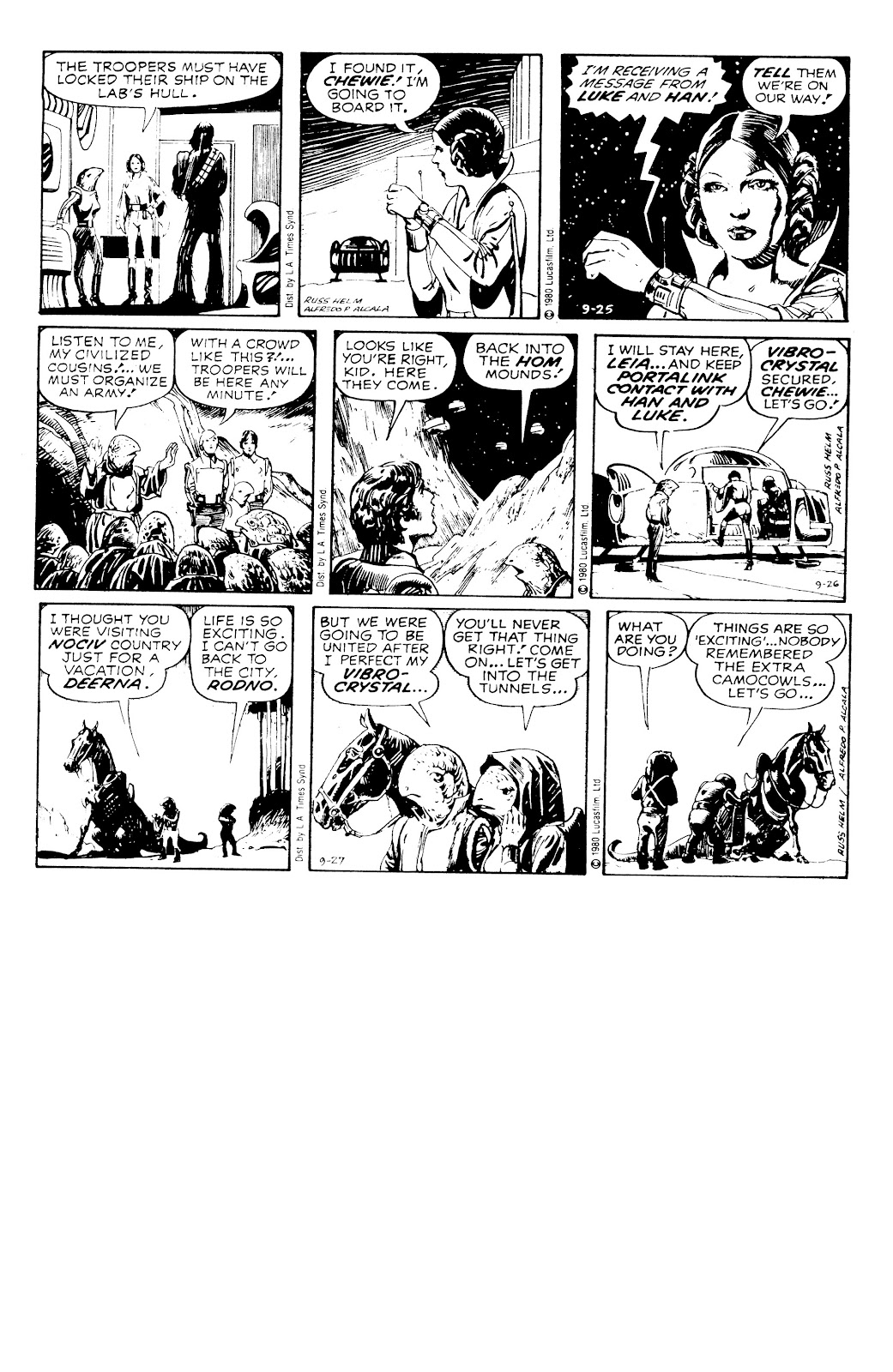 Read online Star Wars Legends: The Newspaper Strips - Epic Collection comic -  Issue # TPB (Part 3) - 100