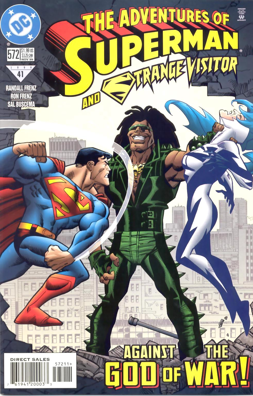 Read online Adventures of Superman (1987) comic -  Issue #572 - 1