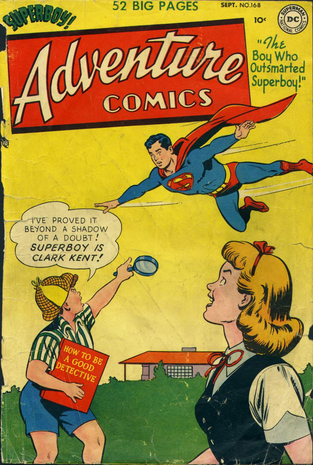 Read online Adventure Comics (1938) comic -  Issue #168 - 1