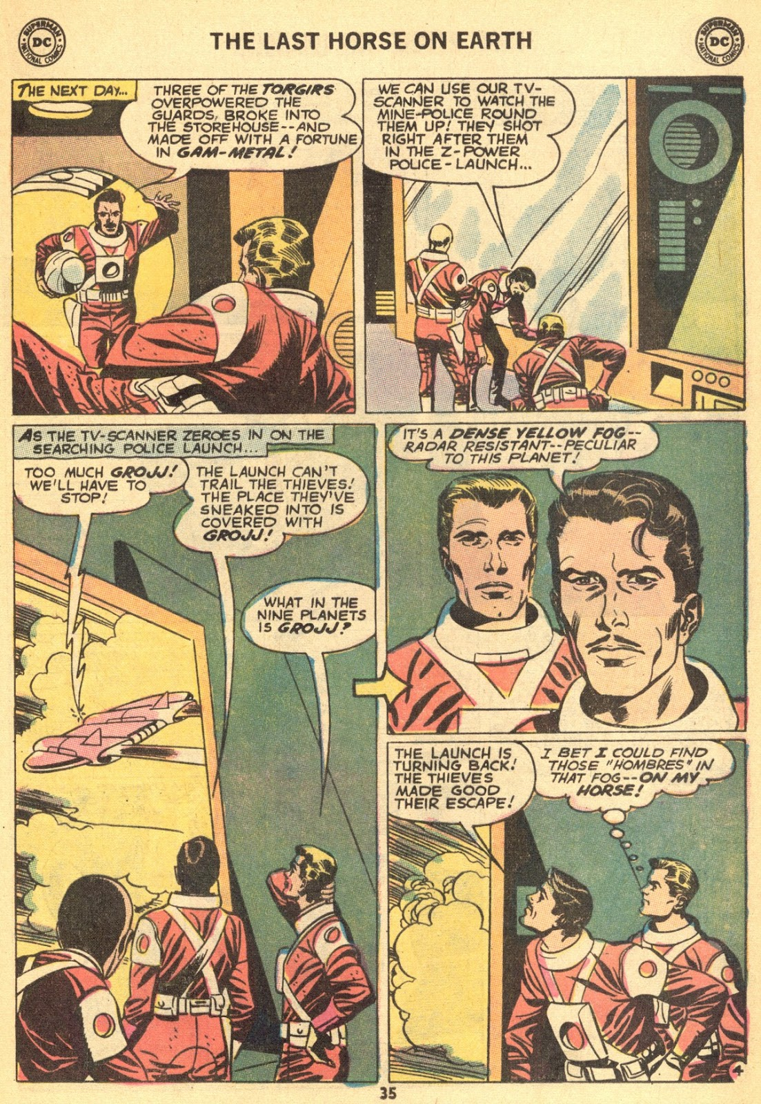 From Beyond the Unknown (1969) issue 9 - Page 37