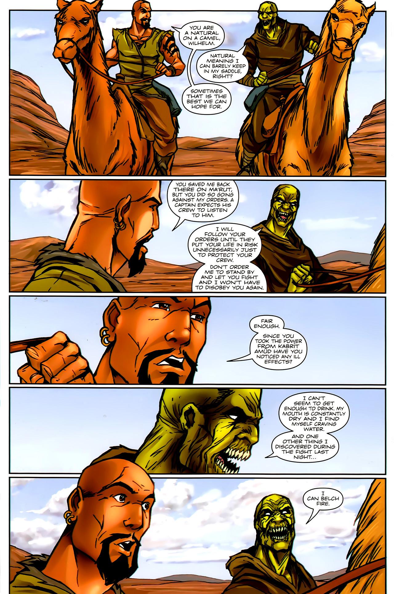 Read online 1001 Arabian Nights: The Adventures of Sinbad comic -  Issue #9 - 12