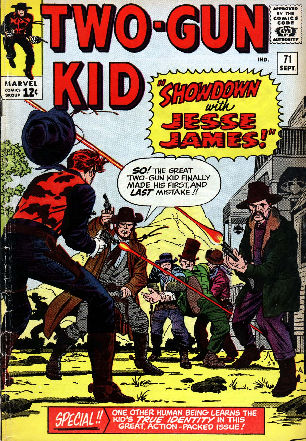 Read online Two-Gun Kid comic -  Issue #71 - 1
