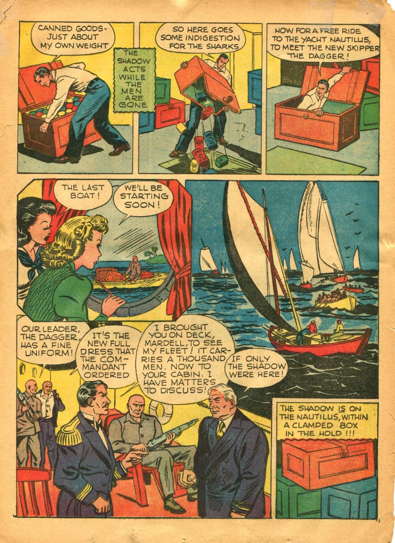 Read online Shadow Comics comic -  Issue #12 - 23